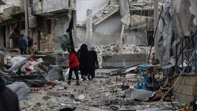 Esed rejimi İdlibe saldırdı: 2 sivil yaşamını yitirdi