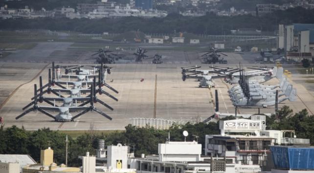 Okinawadaki ABD üslerinde vaka sayısı 98e yükseldi