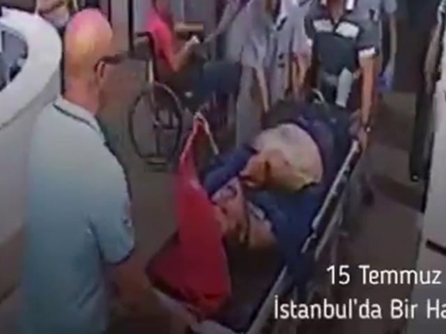 Bakan Kocadan 15 Temmuz paylaşımı: Türk bayrağını elinden bırakmadı