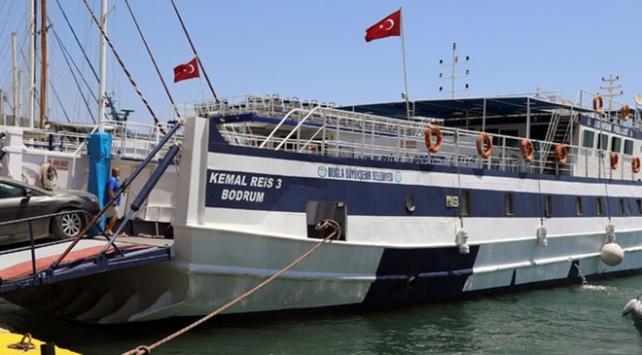 Bodrum-Datça feribot seferleri artırıldı