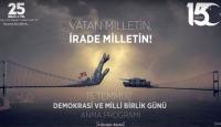 KTMÜ'de '15 Temmuz Demokrasi ve Milli Birlik Günü' programı