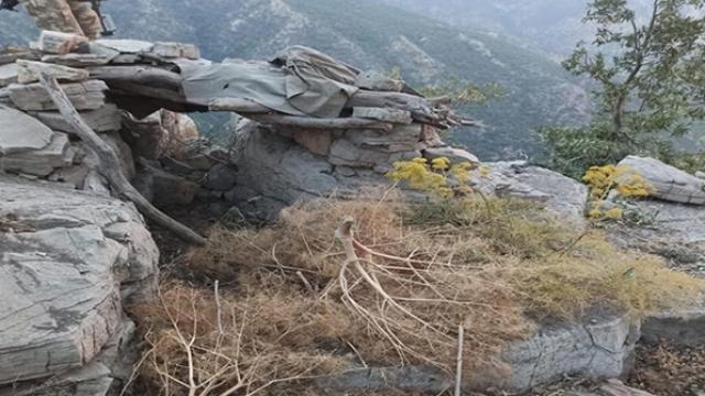 PKK'nın kamera ile izlenen, 5 giriş-çıkışlı sığınağı bulundu