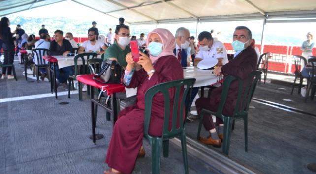 İstanbulda şehit aileleri ve gaziler için gezi programı düzenlendi