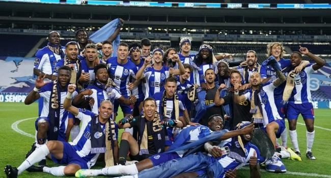 Portekizde şampiyon Porto