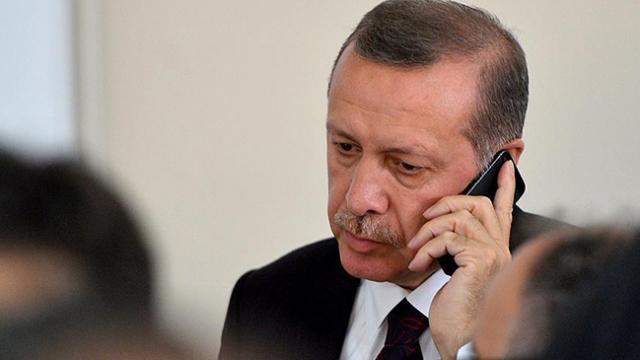 Cumhurbaşkanı Erdoğan'dan şehit babasına başsağlığı telefonu