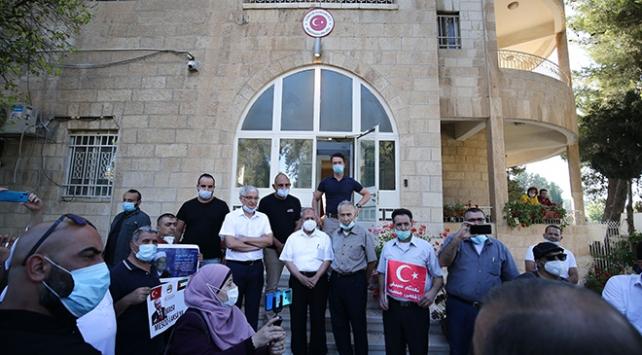 Filistinlilerden Ayasofya kararına destek