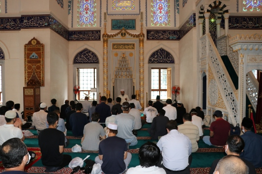 Tokyo Camiinde 15 Temmuz şehitleri için mukabele okundu