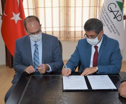 Ömerlide Uygulamalı Arıcılık Eğitim Merkezi Projesi protokolü imzalandı