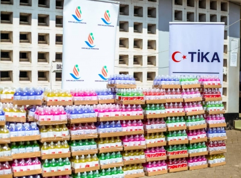 TİKAdan Tanzanyanın Kovid-19la mücadelesine destek