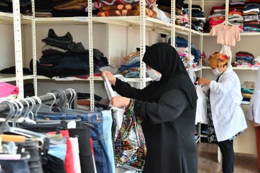 Trabzonda hayırseverlerin giysi bağışı yılda 6 bin aileye ulaşıyor