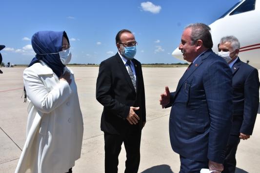 TBMM Başkanı Mustafa Şentop Tekirdağda ziyaretlerde bulundu