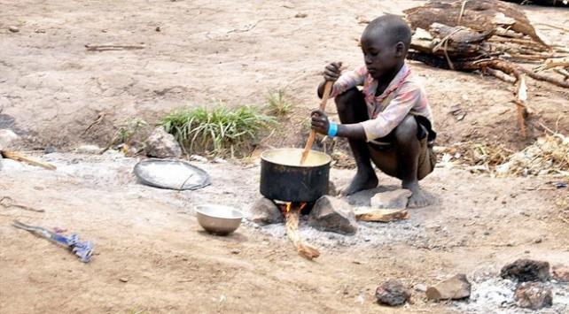 Batı ve Orta Afrikada 15,4 milyon çocuk gıda sorunu yaşayabilir
