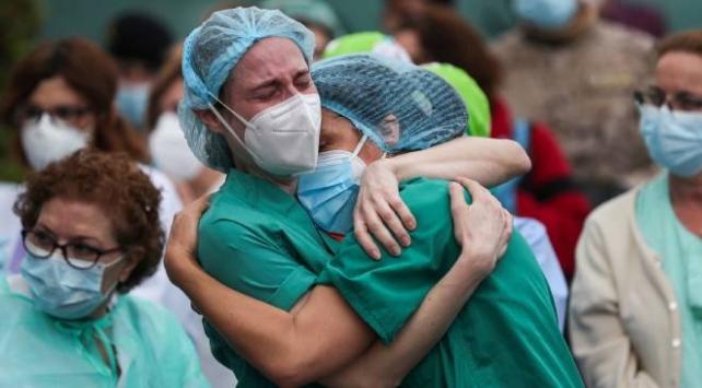 Brezilyada son 24 saatte 1163 kişi hayatını kaybetti