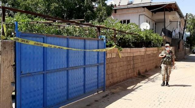 Kahramanmaraşta 10 ev karantinaya alındı