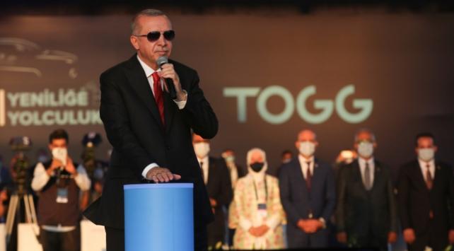 Erdoğan: Dünyada en iyiler liginde oyuncu olmaya hazırız