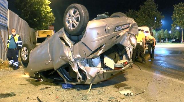 Maltepe Sahil Yolunda kaza: 3 yaralı