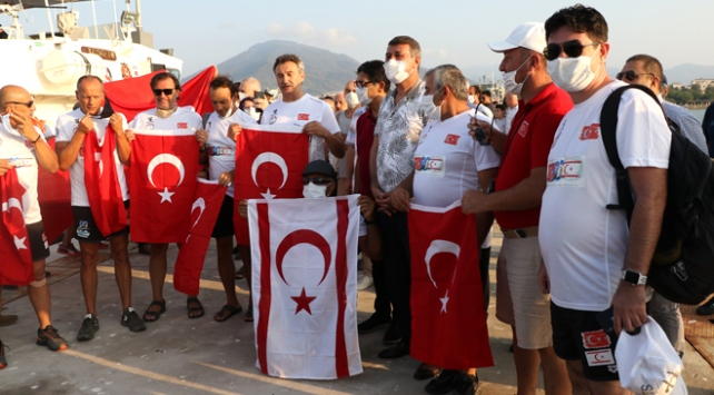 Kıbrıs Barış Harekatının yıl dönümü için 90 kilometre kulaç atacaklar