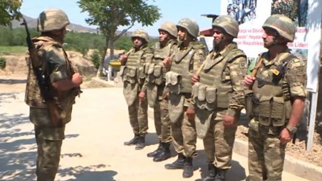 TRT Haber Azerbaycan siperlerinde