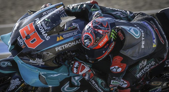 MotoGPde zafer Quartararonun