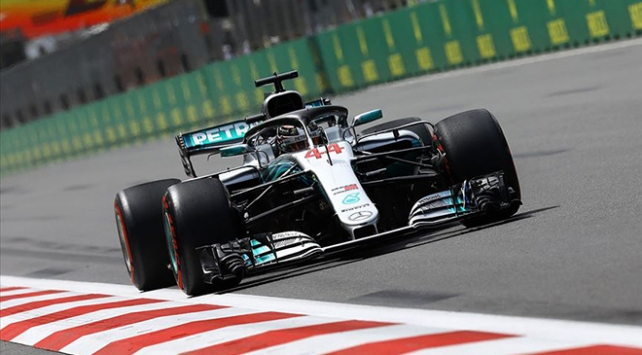 Lewis Hamiltondan üst üste ikinci zafer