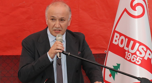 Boluspor Başkanı Necip Çarıkcı görevini bırakıyor