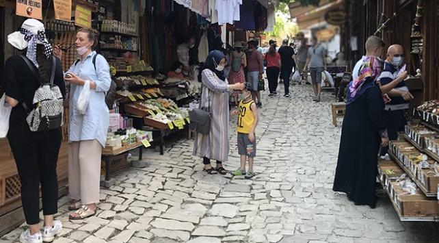 UNESCO Dünya Miras Listesindeki Safranboluya turist akını