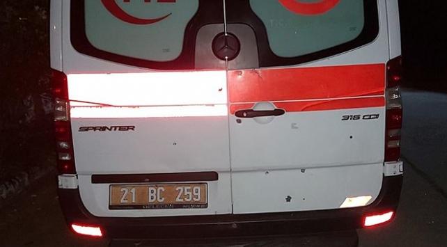 Diyarbakırda ambulansa ateş eden zanlı tutuklandı