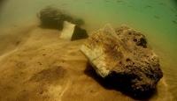 Fillerin atasının fosili Kayseri'de su altında görüntülendi