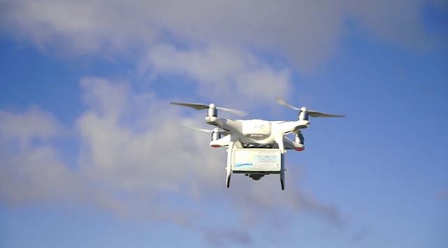 Balıkesirde drone ile faturalandırma dönemi