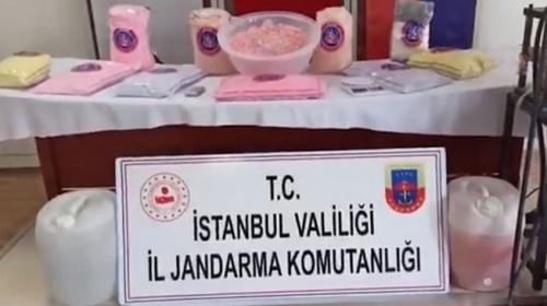 İstanbul'da uyuşturucu operasyonunda 603 bin hap ele geçirildi