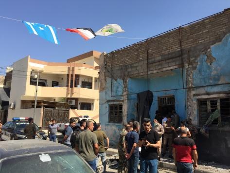 Kerkükte İrana yakın Bedir Tugayları binasına bombalı saldırı