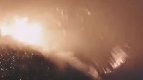 İtalya'da Stromboli Yanardağı'nda patlama