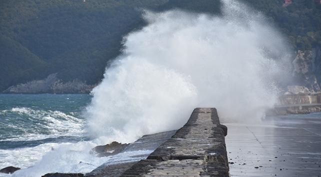 Meteorolojiden Doğu Karadenize fırtına uyarısı