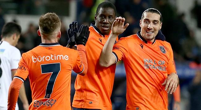 Başakşehirin gol yükünü üç yıldız oyuncu çekti