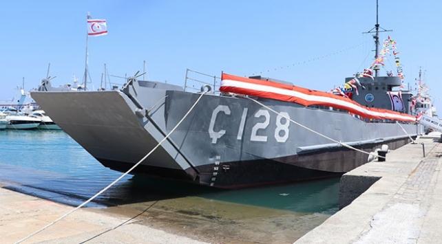 Kıbrıs Barış Harekatının sembollerinden Ç-128 gemisi müze oldu