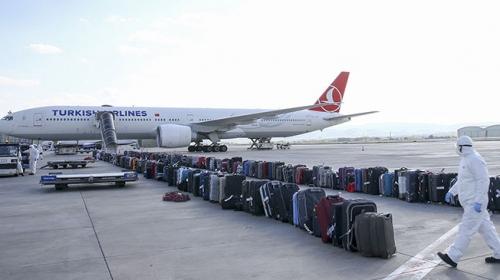 İrlanda'dan Türkiye'ye uzanan tahliye süreci