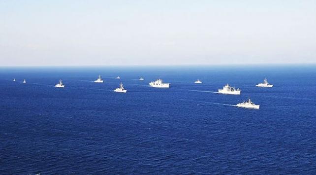 Karadenizde Sea Breeze-2020 tatbikatı yapılıyor