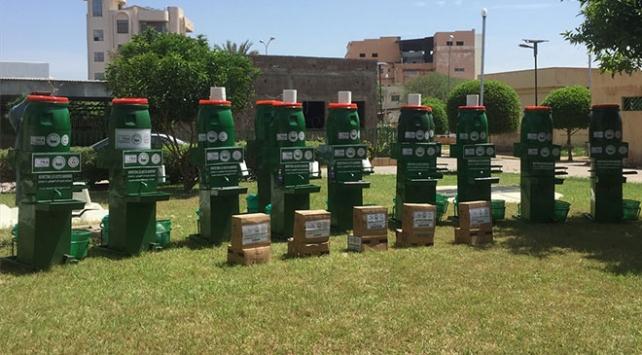 TİKAdan Çada hijyen malzemesi desteği