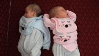 Suriyeli çiftten ikizlere anlamlı isim: Aya ve Sofya