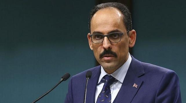 Cumhurbaşkanlığı Sözcüsü Kalın: Libyanın bölünmesine kesinlikle karşıyız