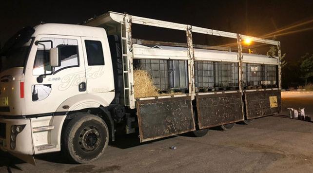 Adanada 14,5 ton kaçak akaryakıt ele geçirildi