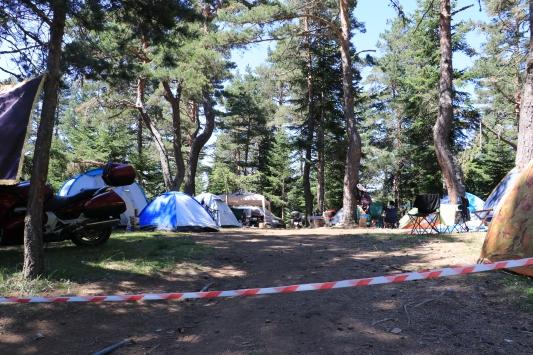 Kamp turizminin adresi Fındıklı Yaylası ziyaretçilerini bekliyor