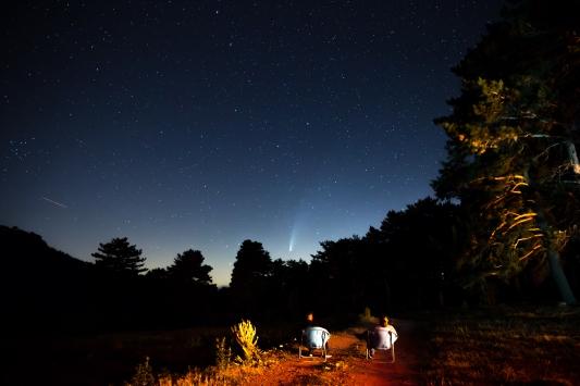 Neowise kuyruklu yıldız, Kütahya semalarında gözlendi