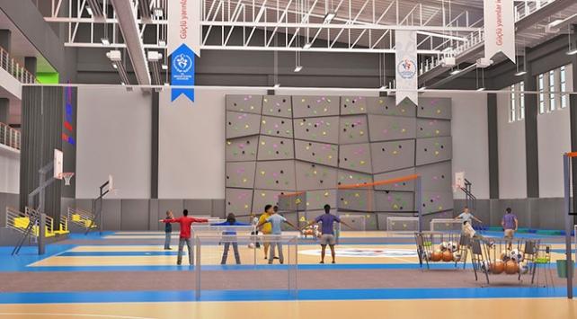 Bakanlıktan sığınmacı gençler için yeni spor tesisleri