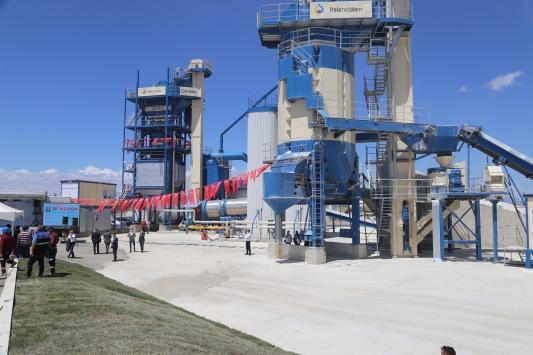 Erzurumda alt ve üstyapı malzemelerinin üretimi için 18 milyon liralık yatırım