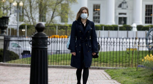 Washingtonda maske takmak zorunlu oldu