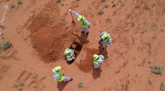 Libyada toplu mezarlardan 7 ceset daha çıkarıldı