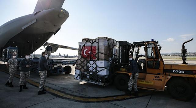 Türkiyeden 3 ülkeye tıbbi malzeme yardımı