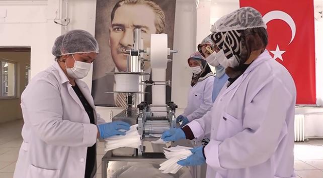 Kırıkkalede 2 ayda 75 milyon maske üretildi