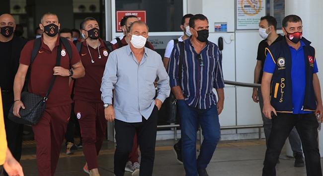 Galatasaray son maç için Antalyada